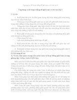 Ứng dụng sơ đồ đoạn thẳng để giải toán có lời văn lớp I