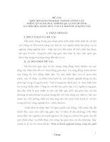 MỘT SỐ KINH NGHIỆM TRONG CÔNG TÁC PHỔ CẬP GIÁO DỤC THÔNG QUA CON ĐƯỜNG XÃ HỘI HÓA GIÁO DỤC TẠI XÃ KHÁNH THẠNH TÂN