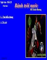 Bài giảng ngữ văn 7 bài 7 bánh trôi nước 4
