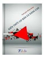 Ebook kiến thức cơ bản và nâng cao về tam giác đồng dạng