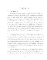 Thực tiễn ký kết và thực hiện hợp đồng mua bán cà phê nhân giữa công ty Nước Ngoài và doanh nghiệp Việt Nam