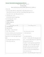 Giáo án thực hành kĩ năng sống lớp 2 (FULL)