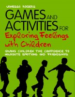 Games and activites for exploring feelings