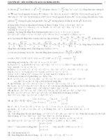 Chuyên đề bồi dưỡng học sinh giỏi và năng khiếu môn toán