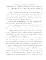 LỊCH SỬ VĂN MINH THẾ GIỚIĐÈ BÀI KIỂM TRA: NHẬN XÉT VỀ TÌNH HÌNH KINH TẾ, CHÍNH TRỊ VÀ XÃ HỘI LƯỠNG HÀ QUA VIỆC TÌM HIỂU BỘ LUẬT HAMÔRABI