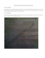 Đề thi thử THPT Quốc gia môn Sử 2015 Sở GD Lâm Đồng