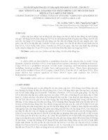 ĐẶC TÍNH của BA LOẠI bộ tắt CHẤN ĐỘNG lực để GIẢM DAO ĐỘNG của CABIN cáp TREO
