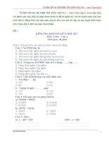 TUYỂN tập 65 đề KIỂM TRA GIỮA học kì i   môn toán lớp 4