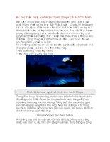 Đề bài: Cảm nhận về bài thơ Cảnh khuya của Hồ Chí Minh