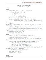 BỘ đề HSG toán lớp 5 và đáp án CHI TIẾT (số 2)