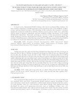 BUILDING STRUCTURE PARAMETER IDENTIFICATION USING THE FREQUENCY DOMAIN DECOMPOSITION (FDD) METHOD   NHẬN DẠNG các THÔNG số ĐỘNG lực học của tòa NHÀ BẰNG PHƯƠNG PHÁP FDD