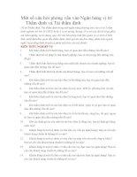 Tuyển tập câu hỏi phỏng vấn vào ngân hàng (HOT)