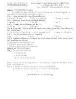 ĐỀ THI HSG và đáp án môn tiếng việt lớp 1