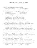 Bài tập về đồng và hợp chất của đồng