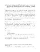 NHỮNG TIÊU CHÍ CƠ BẢN VỀ MỘT NỀN HÀNH CHÍNH CÔNG ĐÁP ỨNG YÊU CẦUPHÁT TRIỂN HỘI NHẬP TRONG MÔI TRƯỜNG KHOA HỌC VÀ CÔNG NGHỆ HIỆN ĐẠI