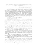 CHUYÊN đề QUAN hệ QUỐC tế (1919 1939) một số vấn đề KHI ôn tập bồi DƯỠNG học SINH GIỎI
