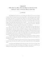 Chuyên đề một số câu hỏi   bài tập rèn LUYỆN kĩ NĂNG LỊCH sử VIỆT NAM GIAI đoạn 1945 1954