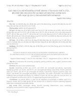 GIÁ TRỊ CỦA CHỈ SỐ KHỐI CƠ THỂ TRONG TẦM SOÁT THỪA CÂN, BÉO PHÌ TRẺ EM 2-9 TUỔI TẠI MỘT SỐ TRƢỜNG MẦM NON TIỂU HỌC QUẬN 3, THÀNH PHỐ HỒ CHÍ MINH