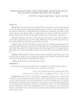ĐÁNH GIÁ KẾT QUẢ PHẪU THUẬT NỘI SOI ĐIỀU TRỊ THỦNG Ổ LOÉT DẠ DÀY TÁ TRÀNG TẠI BỆNH VIÊN NHÂN DÂN GIA ĐỊNH