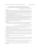 PHÂN TẦNG NGUY CƠ MẮC BÊNH MẠCH VÀNH 10 NĂM Ở BỆNH NHÂN TĂNG HUYẾT ÁP THEO THANG ĐO FRAMINGHAM