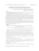 TÌNH HÌNH PHẪU THUẬT NỘI SOI THAI NGOÀI TỬ CUNG TẠI BỆNH VIỆN NHÂN DÂN GIA ĐỊNH TỪ 01/2009 ĐẾN 04/2010