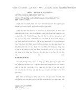 Đồ án tốt NGHIỆP   QUY HOẠCH MẠNG lưới GIAO THÔNG THÀNH PHỐ NAM ĐỊNH