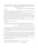 ĐÁNH GIÁ HIỆU QUẢ ĐIỀU TRỊ CỦA PHƯƠNG PHÁP TRUYỀN DỊCH DỰA TRÊN CÂN NẶNG THEO BMI 50 Ở BỆNH NHI SỐT XUẤT HUYẾT ĐỘ III CÓ DƯ CÂN