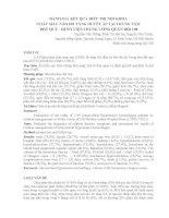 ĐÁNH GIÁ KẾT QUẢ ĐIỀU TRỊ NỘI KHOA CHẢY MÁU NÃO DO TĂNG HUYẾT ÁP TẠI TRUNG TÂM ĐỘT QUỴ - BỆNH VIỆN TRUNG ƯƠNG QUÂN ĐỘI 108