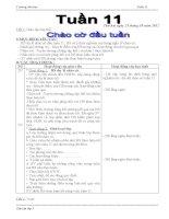 BỘ GIÁO ÁN LỚP 3 TUẦN 11 (2012-2013) - ĐƯỢC BÌNH CHỌN XUẤT SẮC NHẤT CẤP TRƯỜNG, DỰ THI GVDG CẤP HUYỆN