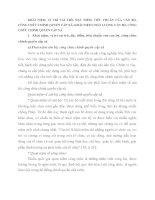 KHÁI NIỆM, VỊ TRÍ VAI TRÒ, ĐẶC ĐIỂM, TIÊU CHUẨN CỦA CÁN BỘ,CÔNG CHỨC CHÍNH QUYỀN CẤP XÃ; KHÁI NIỆM CHẤT LƯỢNG CÁN BỘ, CÔNGCHỨC CHÍNH QUYỀN CẤP XÃ