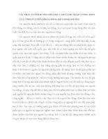 CÁC NHÂN TỐ ẢNH HƯỞNG ĐẾN VIỆC LÀM VÀ THU NHẬP Ở NÔNG THÔN