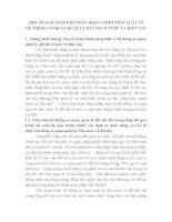 MỘT số GIẢI PHÁP góp PHẦN HOÀN THIỆN PHÁP LUẬT về hệ THỐNG cơ QUAN QUẢN lý đất ĐAI ở nước TA HIỆN NAY