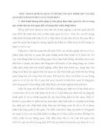 THỰC TRẠNG áp DỤNG QUẢN lý rủi RO vào QUY TRÌNH THỦ tục hải QUAN đối với HÀNG HOÁ XUẤT, NHẬP KHẨU