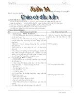 BỘ GIÁO ÁN LỚP 3 TUẦN 14 (2012-2013) - ĐƯỢC BÌNH CHỌN XUẤT SẮC NHẤT CẤP TRƯỜNG, DỰ THI GVDG CẤP HUYỆN