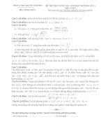 Đề thi thử THPT quốc gia năm 2016 môn toán lần 1   THPT chuyên vĩnh phúc