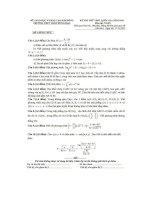 Đề thi thử THPT quốc gia năm 2016 môn toán   THPT trần hưng đạo