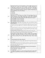 Tổng hợp 1195 câu hỏi tuyển dụng chuyên viên quan hệ khách hàng vào sacombank (phần 2)