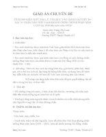 """GIÁO ÁN CHUYÊN ĐỀ TÍCH HỢP KIẾN THỨC ĐỊA LÝ, VĂN HỌC VÀO GIẢNG DẠYTIẾT 24  BÀI 19 """"NHÂN DÂN VIỆT NAM KHÁNG CHIẾN CHỐNG PHÁP XÂM LƯỢC (từ 1858 đến trước năm 1873)"""""""