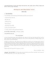 Đề thi học kì 1 lớp 5 môn Tiếng Việt năm 2013 (Phần 2)