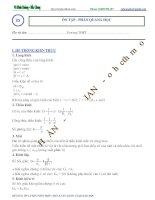Chủ đề 5  Ôn tập về mắt và các dụng cụ quang học