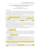 ĐÁNH GIÁ HIỆN TRẠNG Ô NHIỄM CHÌ (Pb) TRONG RAU XANH Ở THÀNH PHỐ HỒ CHÍ MINH (TP.HCM)