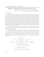 MIMO – công nghệ truyền dẫn vô tuyến tốc độ cao