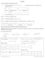 bài tập toán lớp 10 học kì 2