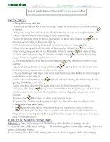 Chủ đề 3: Dòng điện trong chân không, chất khí