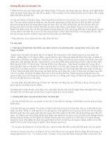 Hướng dẫn làm bài thi tốt nghiệp THPT môn Văn