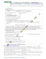Chủ đề 4  Ôn tập kiểm tra chương 5  cảm ứng điện từ