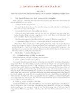 GIÁO TRÌNH ĐẠO ĐỨC NGƯỜI LÁI XE, CAO ĐẲNG NGHỀ LÁI XE