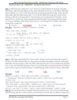 Giải chi tiết Một số bài tập tổng hợp hay và khó ôn thi THPT Quốc gia môn Hóa