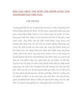 BÁO cáo THỰC tập QUẢN TRỊ CHUỖI CUNG ỨNG NGÀNH dệt MAY VIỆT NAM