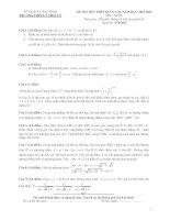Tuyển tập đề thi thử THPT Quốc gia môn toán năm 2016 từ các trường trên cả nước.